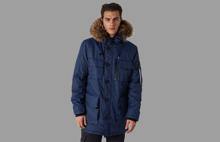 Куртка утепленная мужская FORWARD