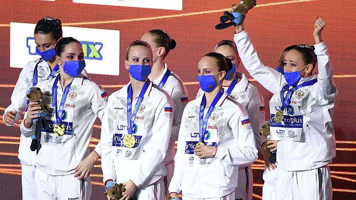 Шесть золотых медалей синхронистов России на чемпионате Европы