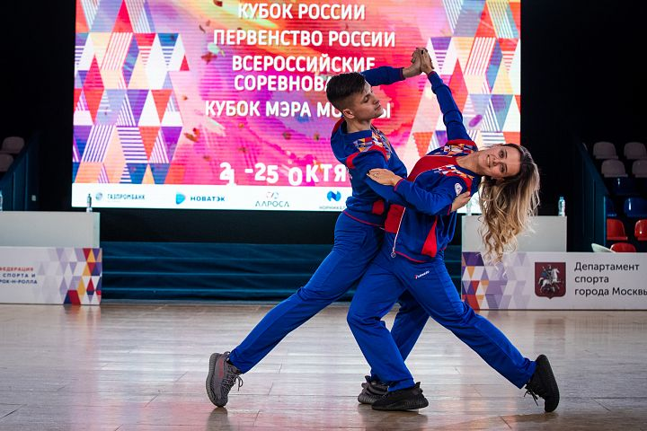 Соревнования по танцевальному спорту.