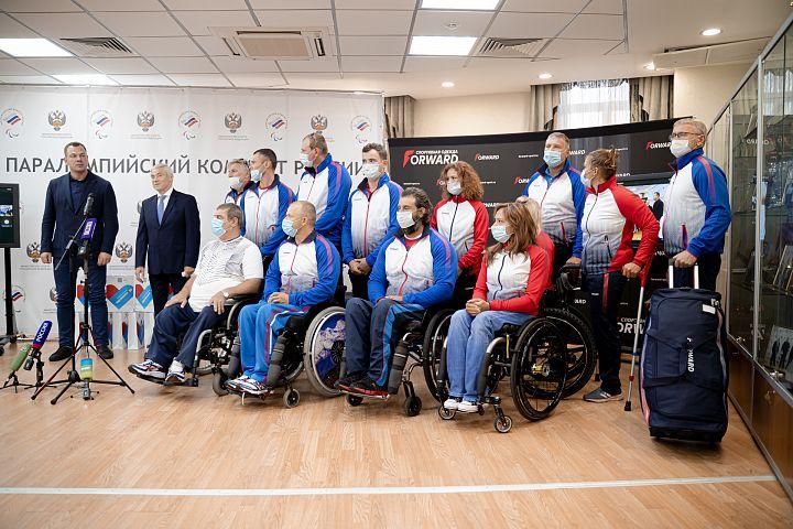 ПКР объявил знаменосцев в Токио и завершил экипировку сборной перед играми.ПКР объявил знаменосцев в Токио и завершил экипировку сборной перед играми.